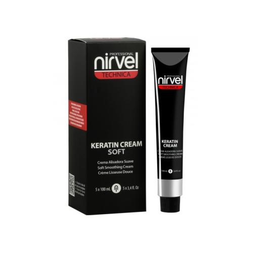 Keratin Cream Soft Nirvel 5 x 100ml